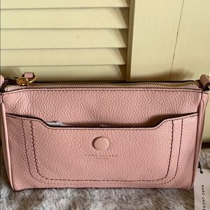 New Marc Jacobs crossbody rose pink leather